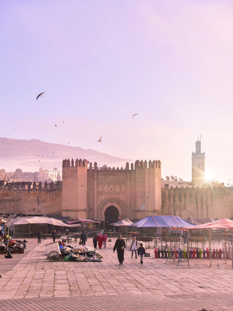 PRINT: Moroccan Market