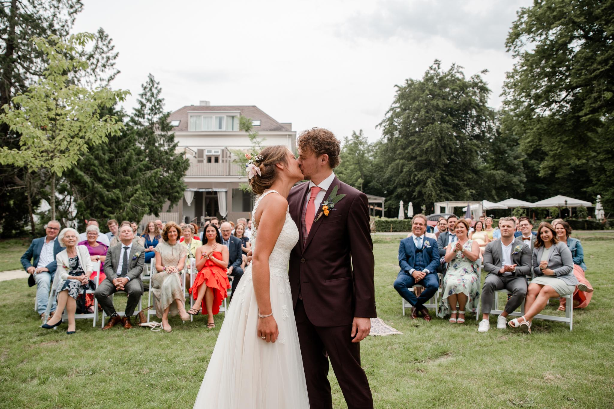 Huwelijk bruiloft Villa Heidetuin